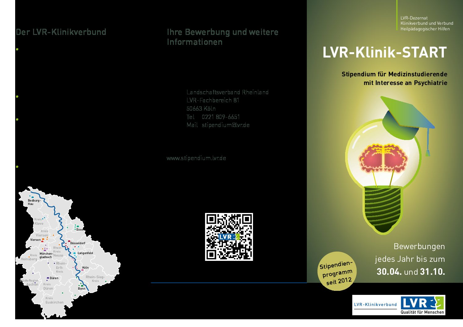 Flyer LVR-Klinik-START